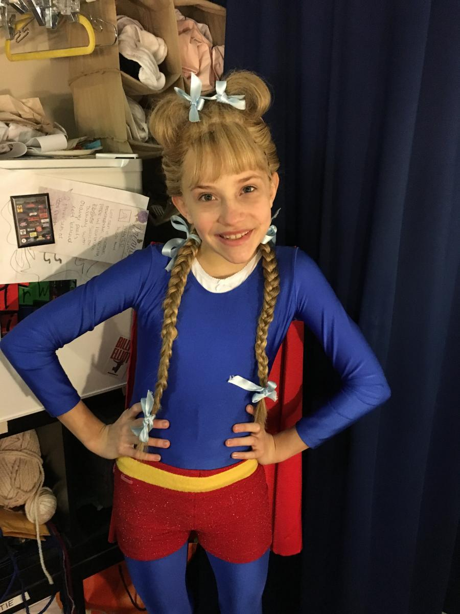 Brooklyn Nelson appeared on Broadway in Matilda the Musical